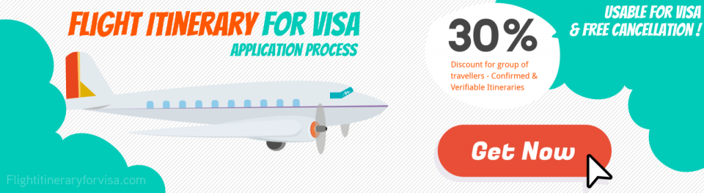 Flight Reservation For Visa Service