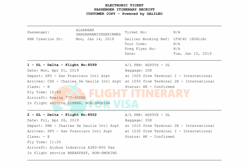 Flight Reservation Sample 4