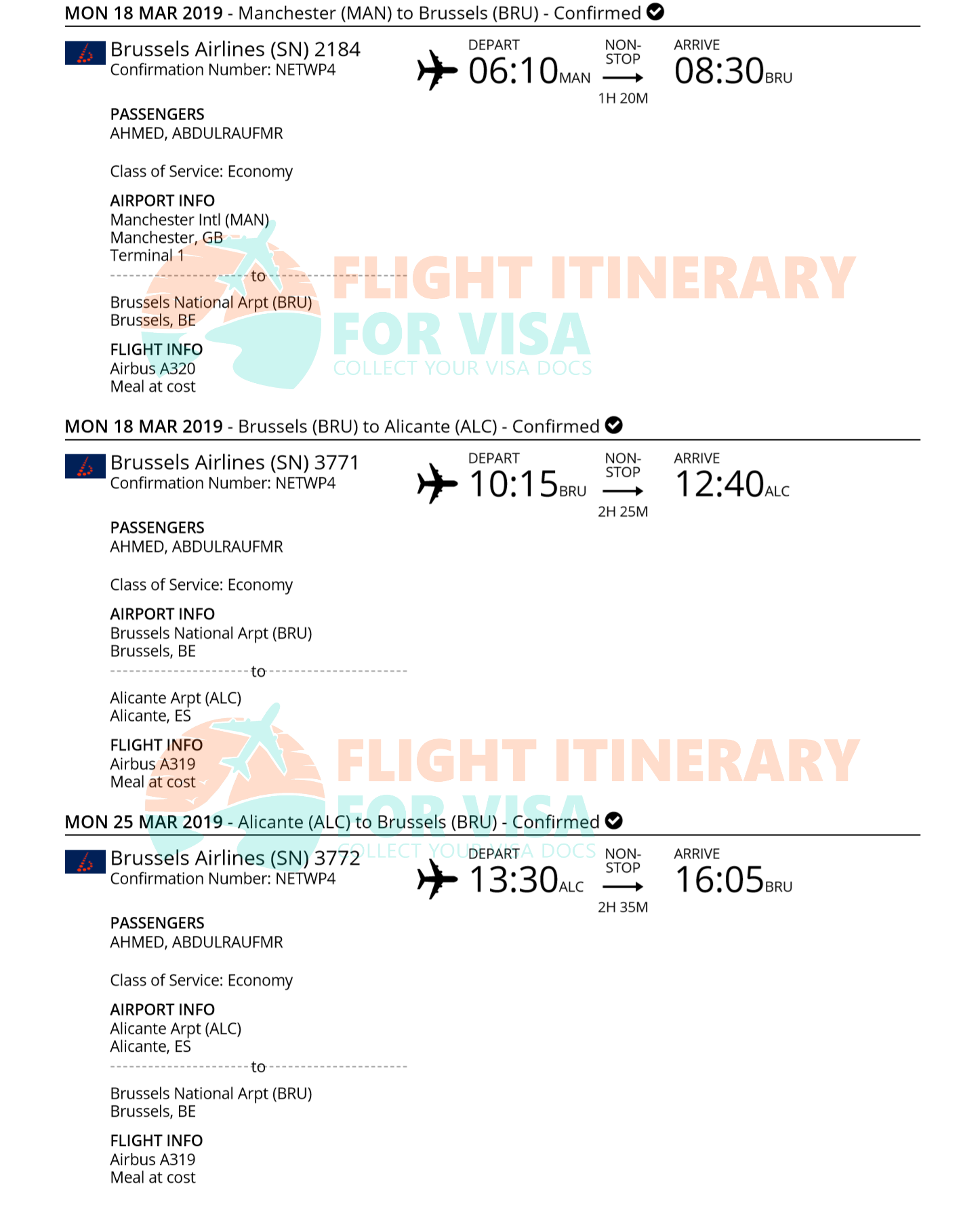 Flight Reservation Sample 6