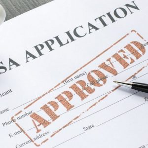 No Objection Certificate for visa application