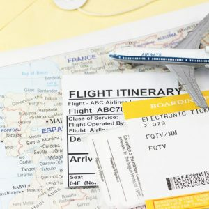 Flight Itinerary and Hotel Bookings
