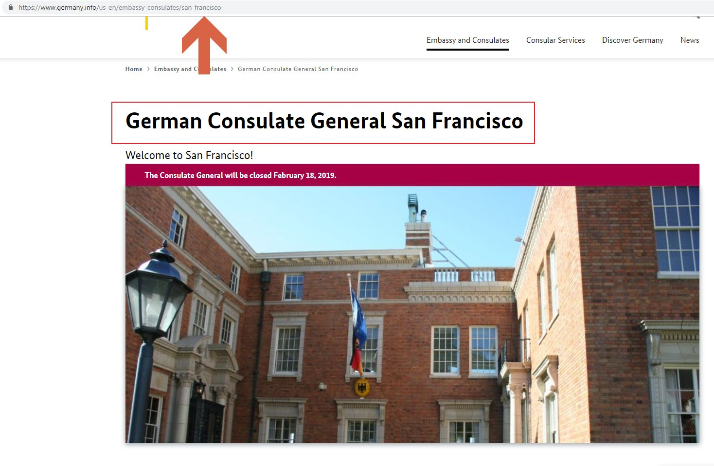Germany Consulate General San Francisco