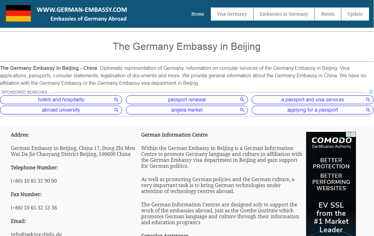 Embassy of Germany in Beijing - Home Page