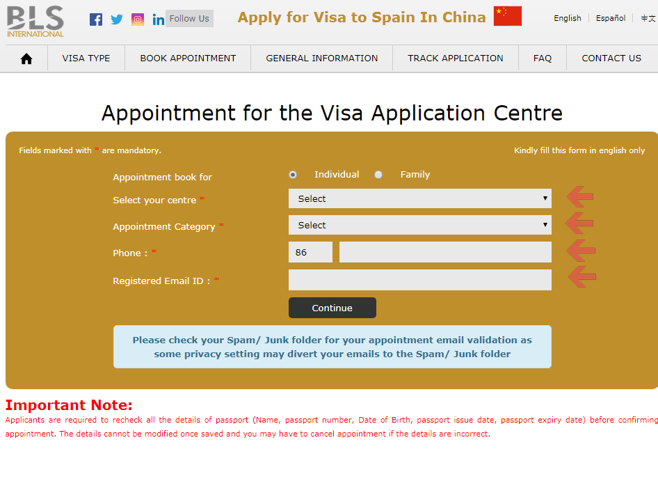 Embassy of Spain in Beijing - Book Appointment