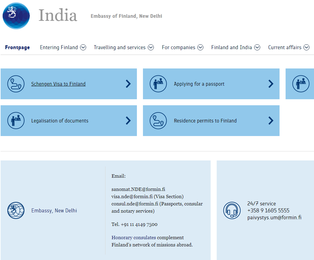 Embassy of Finland in New Delhi - Home Page